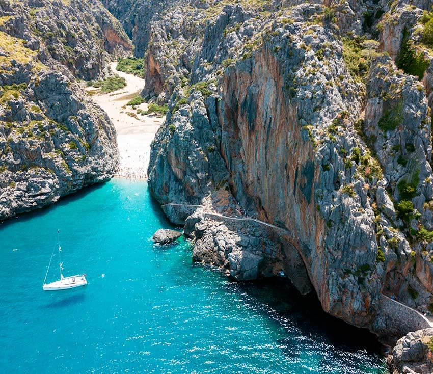 Sa Calobra Mallorca en Moto