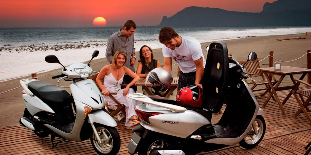 Rent a scooter in Mallorca